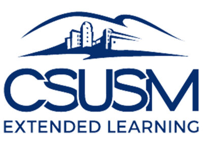CSUSM Extended Learning offers a full range of degree, certificate, and individual programs and courses to fit your education needs.